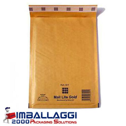 Padded postal envelopes mail lite 50 cm 16x18 pieces