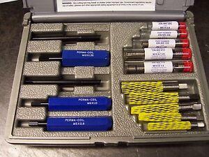 Helicoil Master Thread Repair Kit  M5X.8 - M10X1.5  New