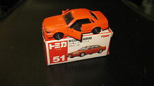 TOMY TOMICA 1.60 SCALE  #51 NISSAN BLUEBIRD  MADE IN JAPAN  HARD TO FIND MODEL