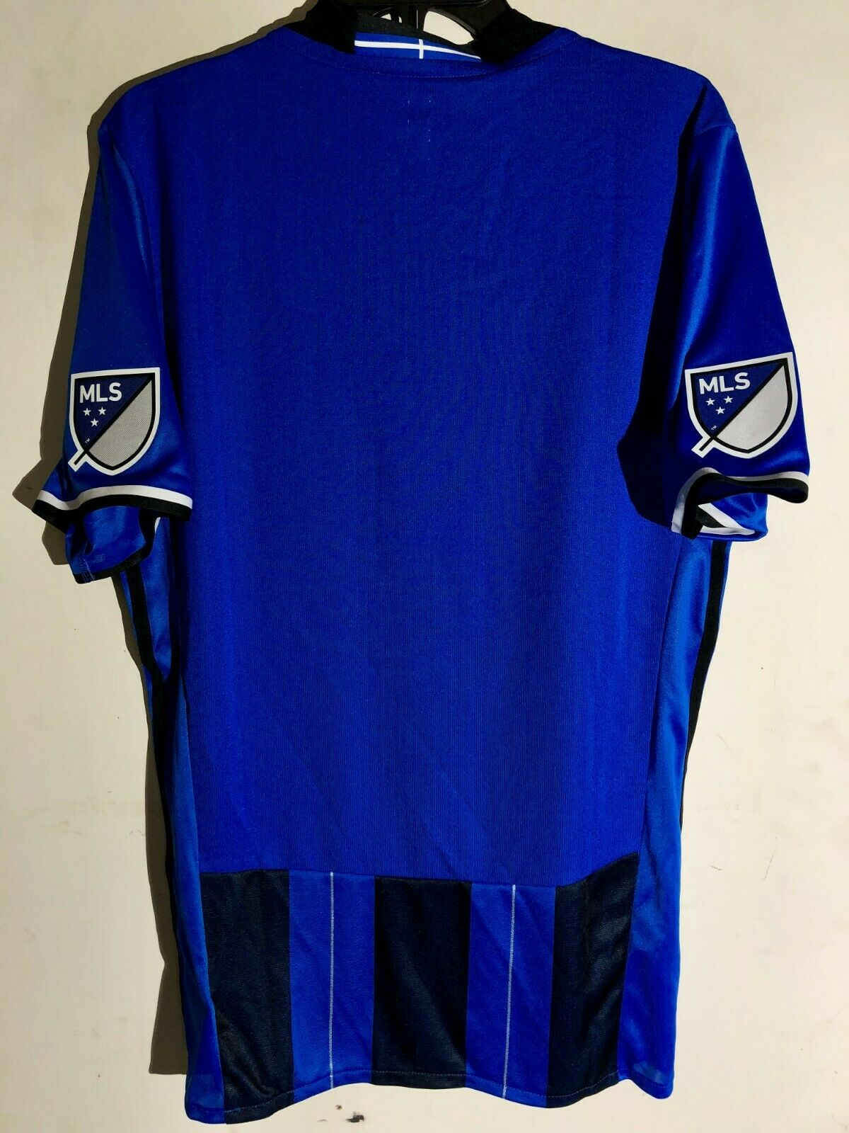 reputable site c1f81 a5a7e Adidas Authentic MLS Jersey Montreal Impact Team BLUE sz L
