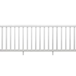 8-x-36-ft-White-Rail-Kit-Exterior-Vinyl-Railing-Deck-Outdoor-Porch-Patio