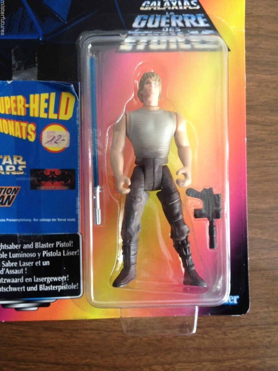 1996 Star Wars POTF Trilogo Luke Skywalker Tonka 11 Back w  rare Kenner Catalog-