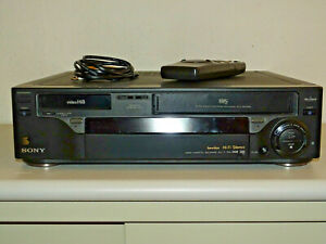 Sony-EV-T1-High-End-Hi8-VHS-Recorder-Kombination-inkl-FB-2Jahre-Garantie