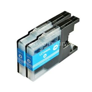 2-Compatibile-con-Brother-Cartucce-Ciano-LC1240-XXL-DCP-J525W-J725DW-J925DW-MFC