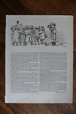 'PICK OF PUNCH 'AUTHENTIC VINTAGE 1956 PRINTED DOUBLE SIDED PAGE HUMOUR - 15