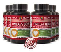 Omega 8060 Heart Health Vitamin Product Of Norway Eye Health Vitamins 6 Bottles
