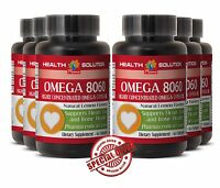 Omega 8060 Heart Health Vitamin Product Of Norway Eye Health Vitamins 6 Bottles