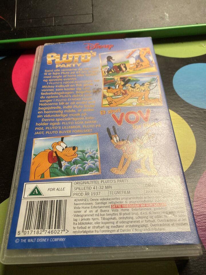 Tegnefilm, Plutos Party, instruktør Disney