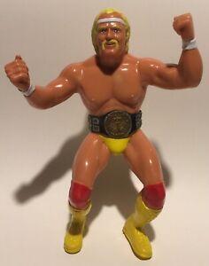 WWF-LJN-Hulk-Hogan-1-Near-Great-Condition-WRESTLING-FIGURE-WCW-WWE-Hulkamania
