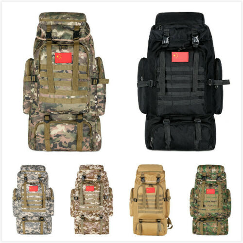 Neu Rucksack 70L Freizeit Tasche Backpack Ranzen Sporttasche Kampfrucksack Army