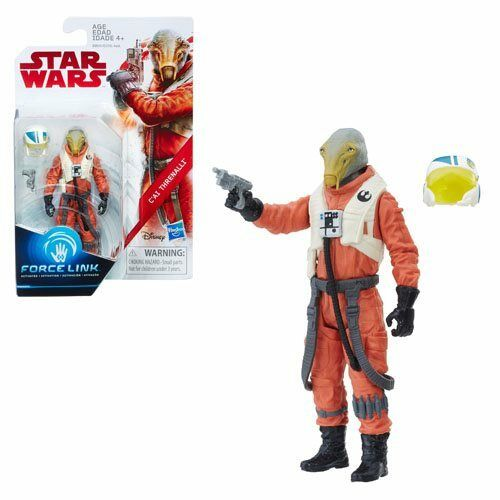 """C/'ai Threnalli 3.75/"""" Action Figure Force Link Star Wars The Last Jedi Exclusive"""