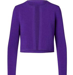 1-290-Ralph-Lauren-Purple-Label-Collection-Womens-Wool-Cardigan-Blazer-Jacket