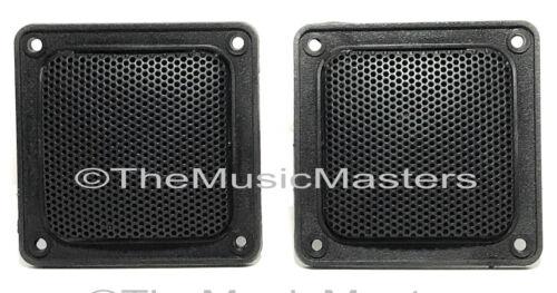 "Pair 3/"" inch Flush Mount Mini Super Horn Tweeters Speakers Car Home Pro Audio"
