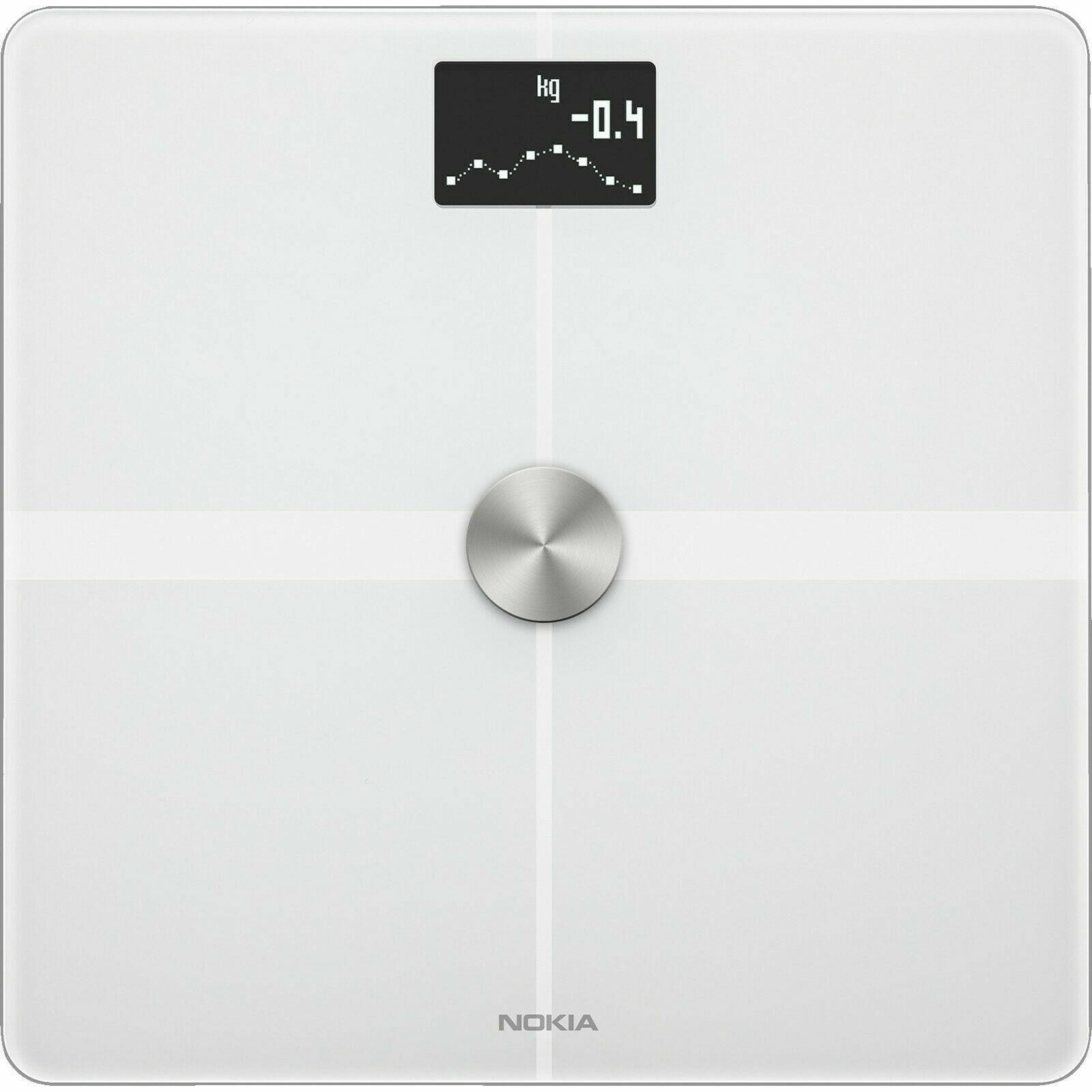 Withings     Nokia Body+ - WLAN-Körperwaage für Körperzusammensetzung, Weiß 1433d3