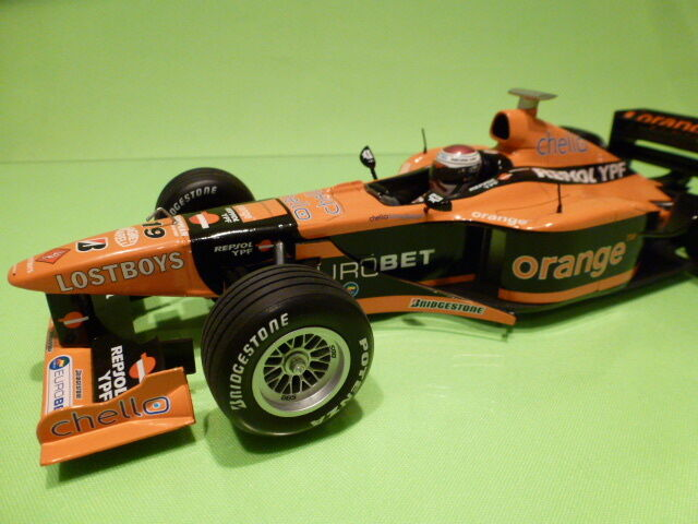 PAULS MODEL ART ARROWS A20 1999 orange - F1 VERSTAPPEN  No 19 1 18 - MINICHAMPS