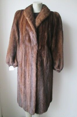 Women's Sz 12  MINT Demi-Buff Mink Fur Coat  SALE SALE