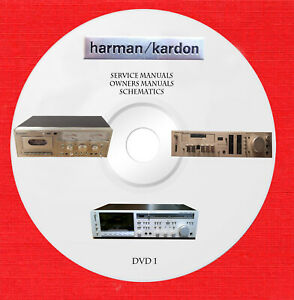 Harman Kardon Service Schematics Owner Manuals In Pdf Format Dvd 1 Of 2 Ebay