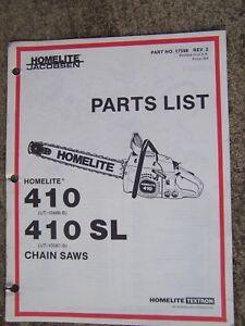 Image Is Loading Homelite 410 Ut 10486 B Sl