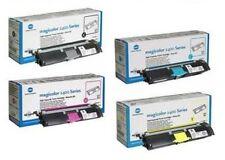4 x Original Toner Konica Minolta MagiColor 2400w 2450 2490MF 2500w 2550 / HiCap