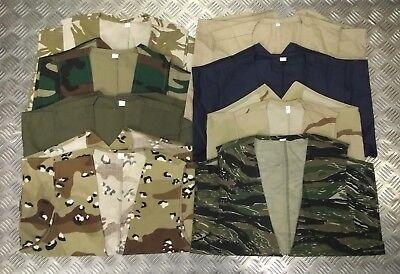Unisex Boys Mens Lightweight Waistcoat Fancy Dress Military Camo Combat Soldier