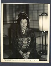 SYLVIA SIDNEY IN ASIAN MAKE-UP FOR 1932 MADAME BUTTERFLY - ORIENTAL - VG+ DBLWT