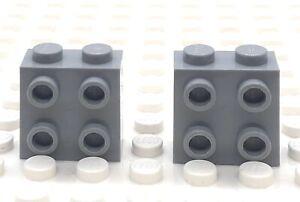 LEGO-Part-22885-1x2x1-Brique-Lumiere-Gris-bleuatre-X-2-6123809