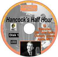 Hancock's Half Hour 52 Old Time Radio Episodes Audio MP3 CD OTR disk 1