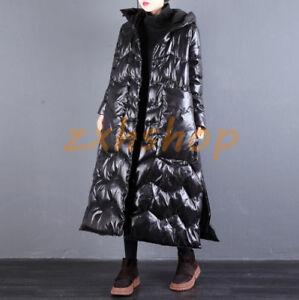Langer Mäntel Outwear Details Damen Daunenjacken Warm Parkas Zu Overknee Oversize Dicker vnwmN80