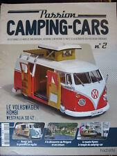 FASCICULE  2 PASSION CAMPING CARS VOLKSWAGEN KOMBI WESTFALIA SO 42