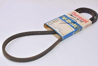 "V Belt A77 Top Width 1//2/"" Thickness 5//16/"" Length 79/"" inch 4L790"