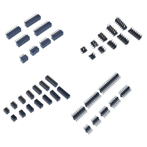 2Pin to 40Pin 2.0mm Pitch Female Sockets/&Male Pin Header Connector Double Row