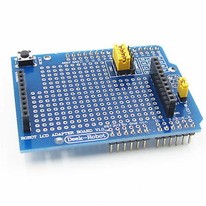 Details about TFT LCD Shiled Adapter Board For Arduino Esplora 1 8