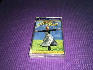 THE SOUND OF MUSIC Original Motion Picture Soundtrack Cassette—Preowned