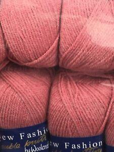Woolcraft New fashion DK 5 Balls 500 Grams Beautiful Yarn White