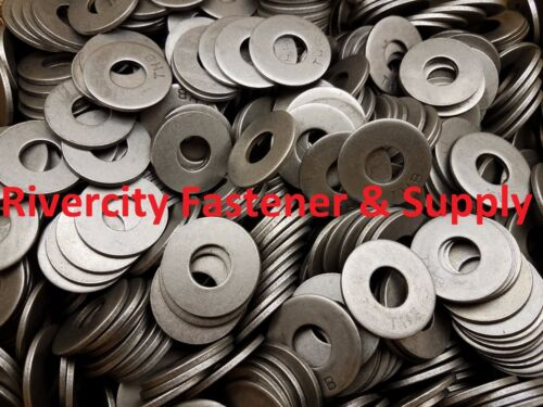 "300 1//2 Inch Grade 8 USS Flat Washers Plain 1//2/"" Thru Hardened Washer"