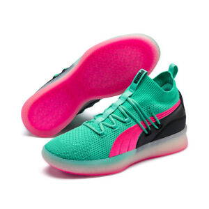 7fc08885aa700b New Puma Men s Clyde Court Basketball Shoes Sneakers - Biscay Green ...