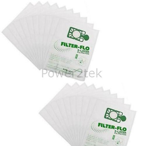 20 x NVM-1CH hoover poussière sacs pour aspirateur numatic NVR200 NVR-200 NVR225 uk stock