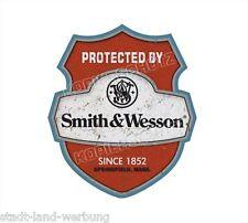 Smith&Wesson Aufkleber Sticker Oldschool Retro Hot Rod Rockabilly US CARS OEM V8