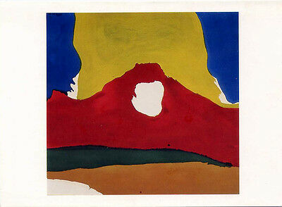 "Helen Frankenthaler ""Floe IV"" 1963 Museum of Fine Arts Boston Art Notecard 5x7"