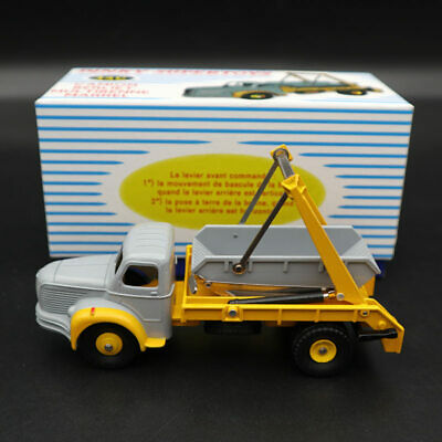 RARE ATLAS DINKY SUPERTOYS 34C 1//43 CAMION BERLIET MULTIBENNE MARREL PROTOTYPE