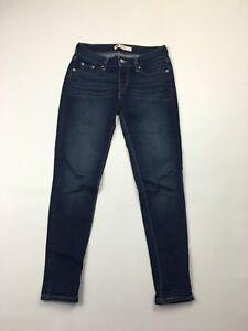 Zustand Damen W26 Sehr Navy L28 Jeans guter Levi 535 Wash frxwnqFzfp