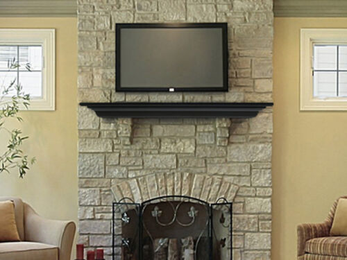 inventive ways to hang a 40 inch flat screen tv. Black Bedroom Furniture Sets. Home Design Ideas