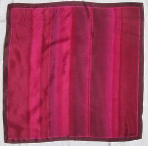 Beau Foulard tour de cou ESPRIT soie vintage 50 x 50 cm   eBay 80241244632