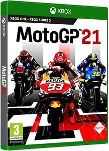 MOTO GP 21 XBOX ONE VIDEOGIOCO UFFICIALE 2021 XBOX SERIES ITALIANO MOTOGP NUOVO