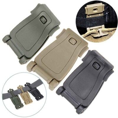 10Pc Tactical Molle Strap EDC Outdoor Backpack Bag Webbing Carabiner Buckle Clip
