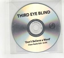 (GV480) Third Eye Blind, Don't Believe A Word - 2010 DJ CD