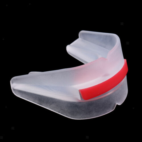 Transparent Mouth Guard Teeth Protector for Boxing Safe Soft Silicone