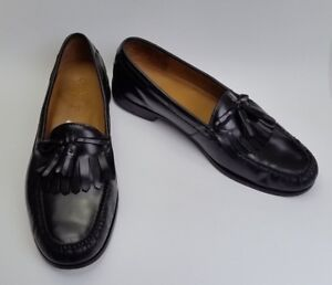 18b6a978e9f Image is loading Cole-Haan-Shoes-Loafers-Pinch-Tassel-Black-India-