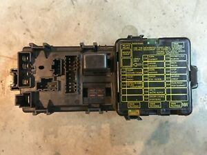 [SCHEMATICS_4ER]  92 93 94 1992 MITSUBISHI EXPO FUSE BOX UNDER DASH | eBay | 94 Mitsubishi Mirage Fuse Box |  | eBay