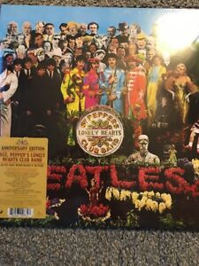 THE-BEATLES-039-SGT-PEPPERS-LONELY-HEARTS-CLUB-BAND-039-ANNIVERSARY-EDITION-VINYL-LP